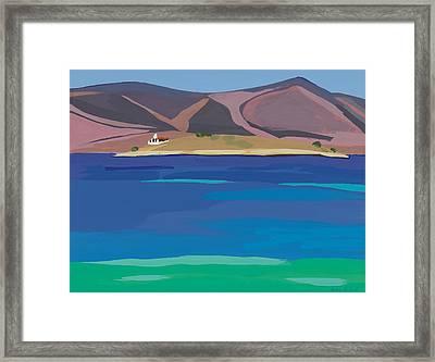 Sea View Dream Framed Print by Sarah Gillard