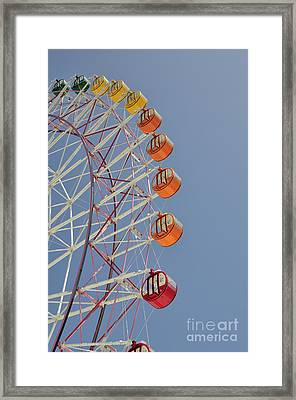 Seacle Ferris Wheel Framed Print by Andy Smy