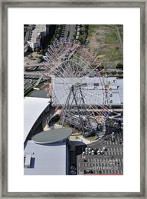 Seacle Pleasure Town Framed Print by Andy Smy