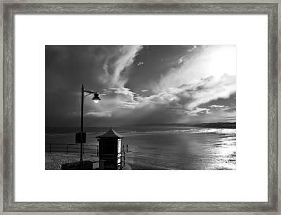 Seafront Framed Print by Svetlana Sewell