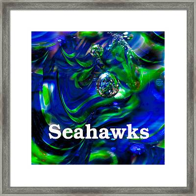 Seahawk Image 1 Framed Print by David Patterson