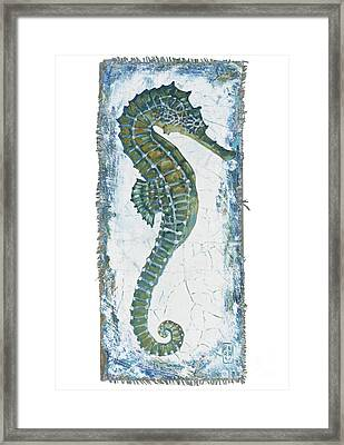 Seahorse Framed Print by Danielle Perry