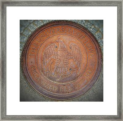 Seal Of Approval  Framed Print by Jame Hayes
