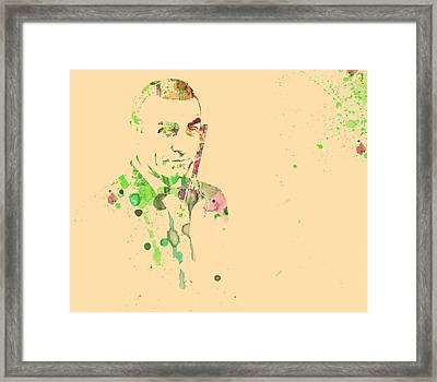 Sean Connery Framed Print by Naxart Studio