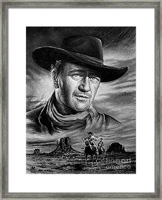 Searching Framed Print by Andrew Read