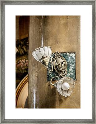 Searching For The Light I Framed Print by Pat Eisenberger