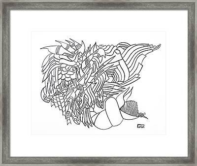 Searocks Framed Print by Peter Hermes Furian