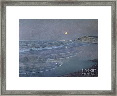 Seascape Framed Print by Alexander Harrison