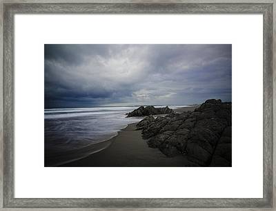 Seascape No.2 Framed Print by Fan Ying Hua