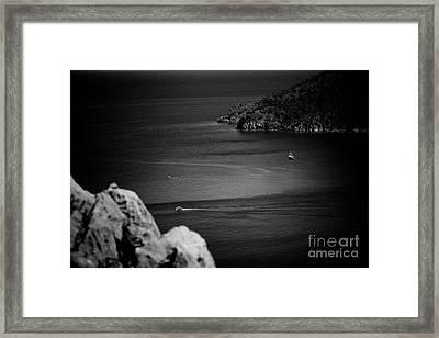 Seascape Turkey Artmif Framed Print by Raimond Klavins