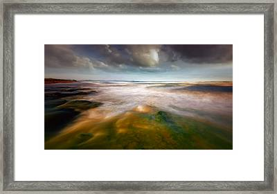 Seaside Abstraction Framed Print by Piotr Krol (bax)