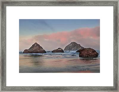 Seaside Reflections Framed Print by Andrew Soundarajan