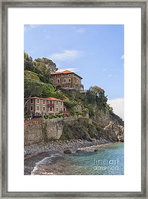 Seaside Villas Framed Print by Patricia Hofmeester