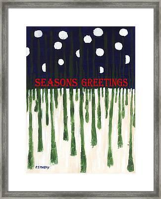 Seasons Greetings 2 Framed Print by Patrick J Murphy