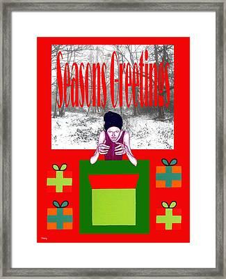 Seasons Greetings 63 Framed Print by Patrick J Murphy