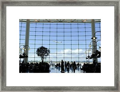 Seatac Airport K088 Framed Print by Yoshiki Nakamura