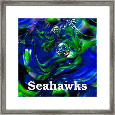 Seattle Seahawks 2 Framed Print by David Patterson