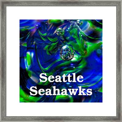 Seattle Seahawks Framed Print by David Patterson