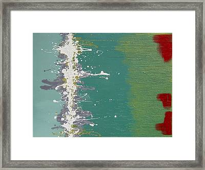 Seaweed Framed Print by Kate Tesch