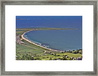 Second Beach Newport Rhode Island Framed Print by Duncan Pearson