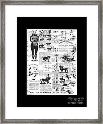 Second Coming Of Jesus 1844 Framed Print by Pd
