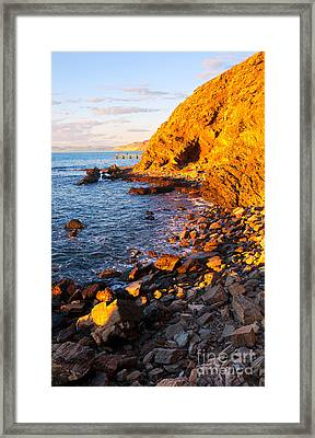 Second Valley Framed Print by Bill  Robinson