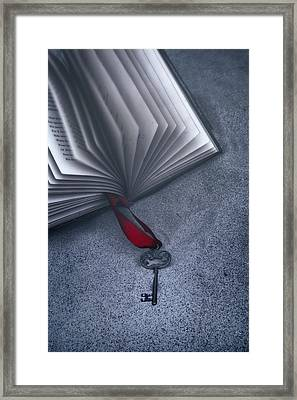 Secret Book Framed Print by Joana Kruse