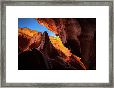 Secret Canyon Framed Print by Edgars Erglis