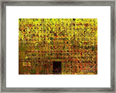 Secret IIi Framed Print by Andy  Mercer