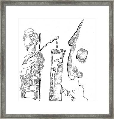 Secrets Of The Engineers Framed Print by Regina Valluzzi