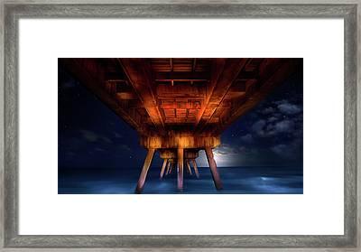 Secrets Of The Sea Framed Print by Mark Andrew Thomas