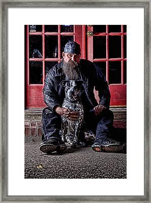 Security Framed Print by Robert Jamason