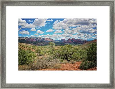 Sedona Arizona Landscape #2 Framed Print by Jennifer Rondinelli Reilly - Fine Art Photography