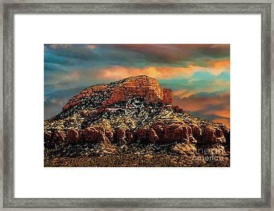 Sedona Dawn Framed Print by Jon Burch Photography