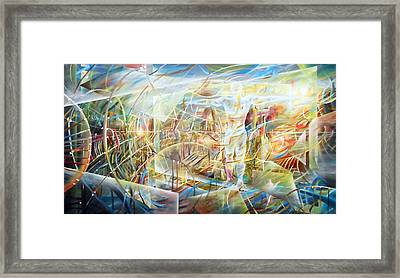 See Hope And Architecture Framed Print by Piero Manrique