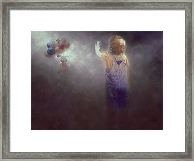See Ya Later Framed Print by Terry Fleckney