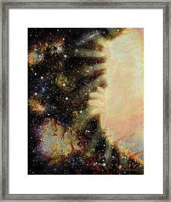 Seeing Beyond 2 Framed Print by Graham Braddock