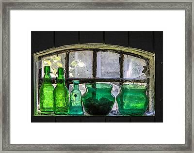 Seeing Green Framed Print by Odd Jeppesen