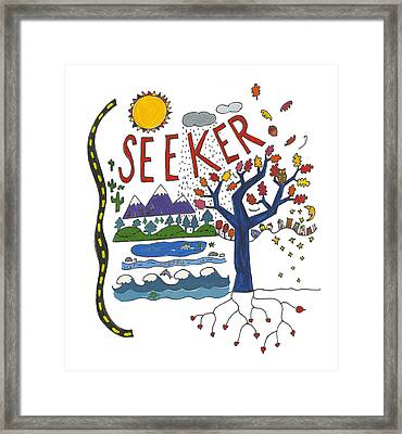 Seeker Framed Print by Barbara Esposito