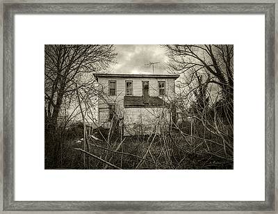 Seen Better Days Framed Print by Brian Wallace
