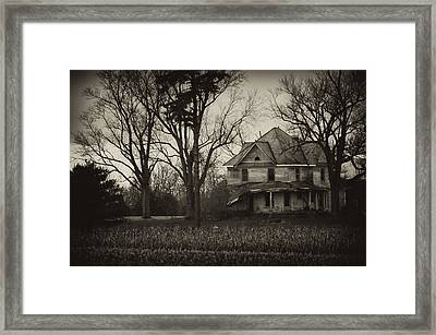 Seen Better Days Framed Print by Off The Beaten Path Photography - Andrew Alexander