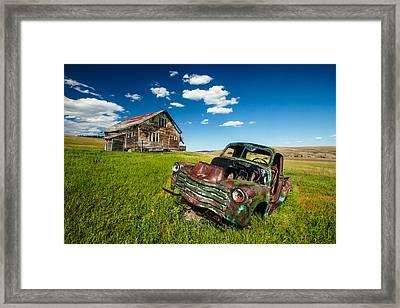 Seen Better Days Framed Print by Todd Klassy