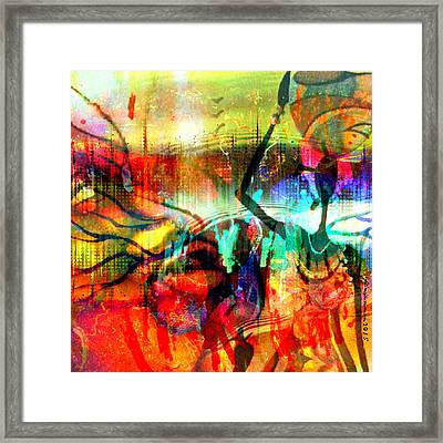 Self Employed Framed Print by Fania Simon