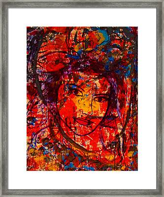 Self-portrait-5 Framed Print by Natalie Holland