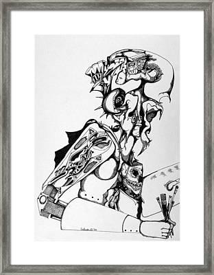 Self Portrait Framed Print by Daniel Culver