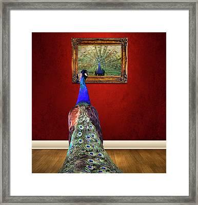 Self Portrait Framed Print by Steven  Michael