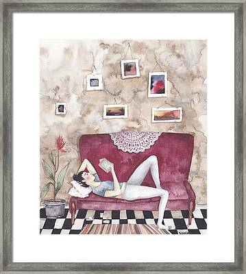 Self-reflection Framed Print by Soosh