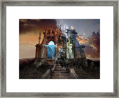 Self Reincarnation  Framed Print by George Grie