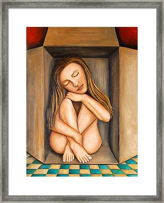 Self Storage Framed Print by Leah Saulnier The Painting Maniac