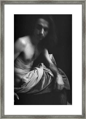 Self Study I Framed Print by Marcio Faustino